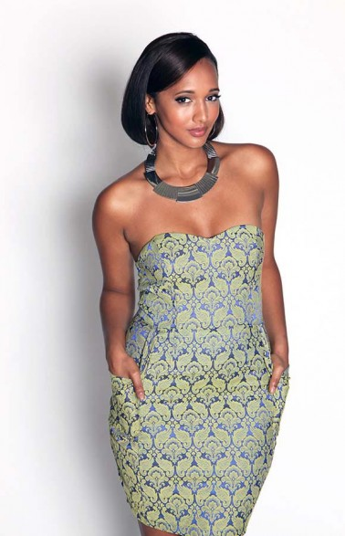 AX Paris Boobtube Paisley Dress Cost 36GBP (N9,750). Available UK sizes: 8-14