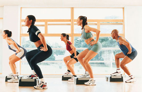 FITNESS CLASSES AND GROUP WORK-OUTS