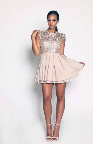 Jones and Jones Sequin Dress Cost 70GBP (N19,000). Available UK Sizes: 10-12