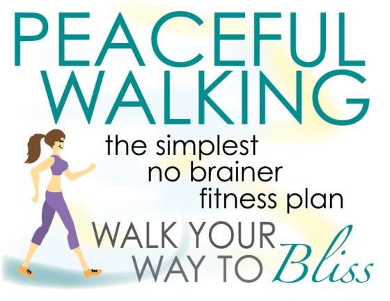 A SIMPLE WALK GOES A LONG WAY