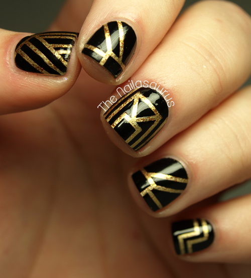 The Great Gatsby Nail Art