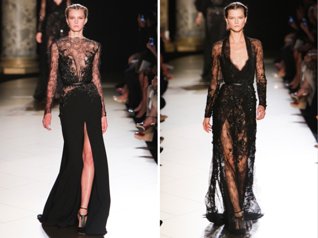 ELIE SAAB BLACKS