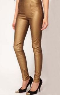 SHE GOLD LEGGINGS