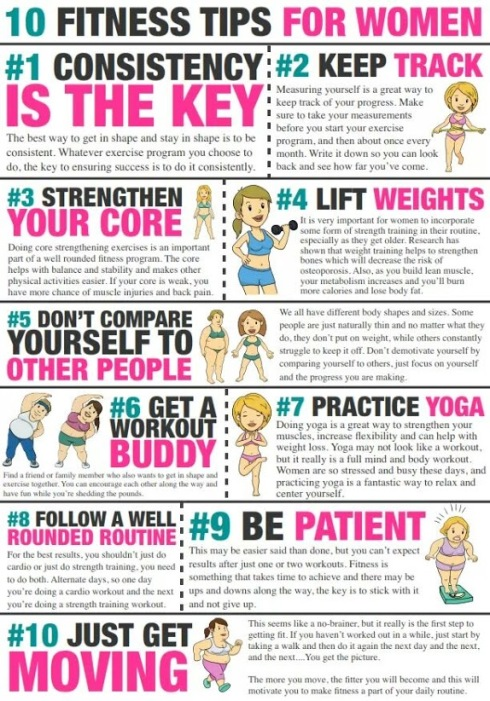 11 Simple Fitness Tips For Women