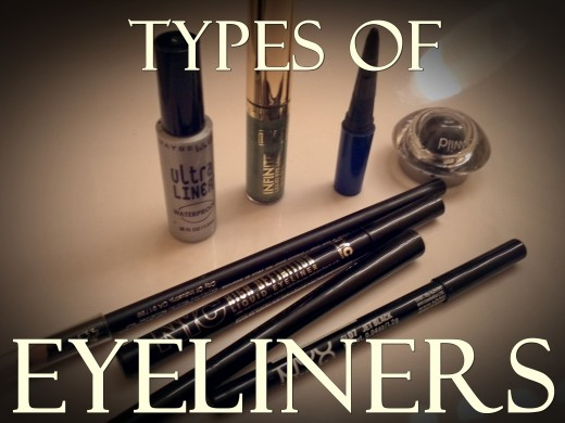 types of eyeliners