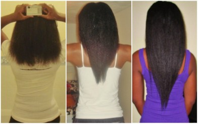 how to grow relaxed hair to shoulder length