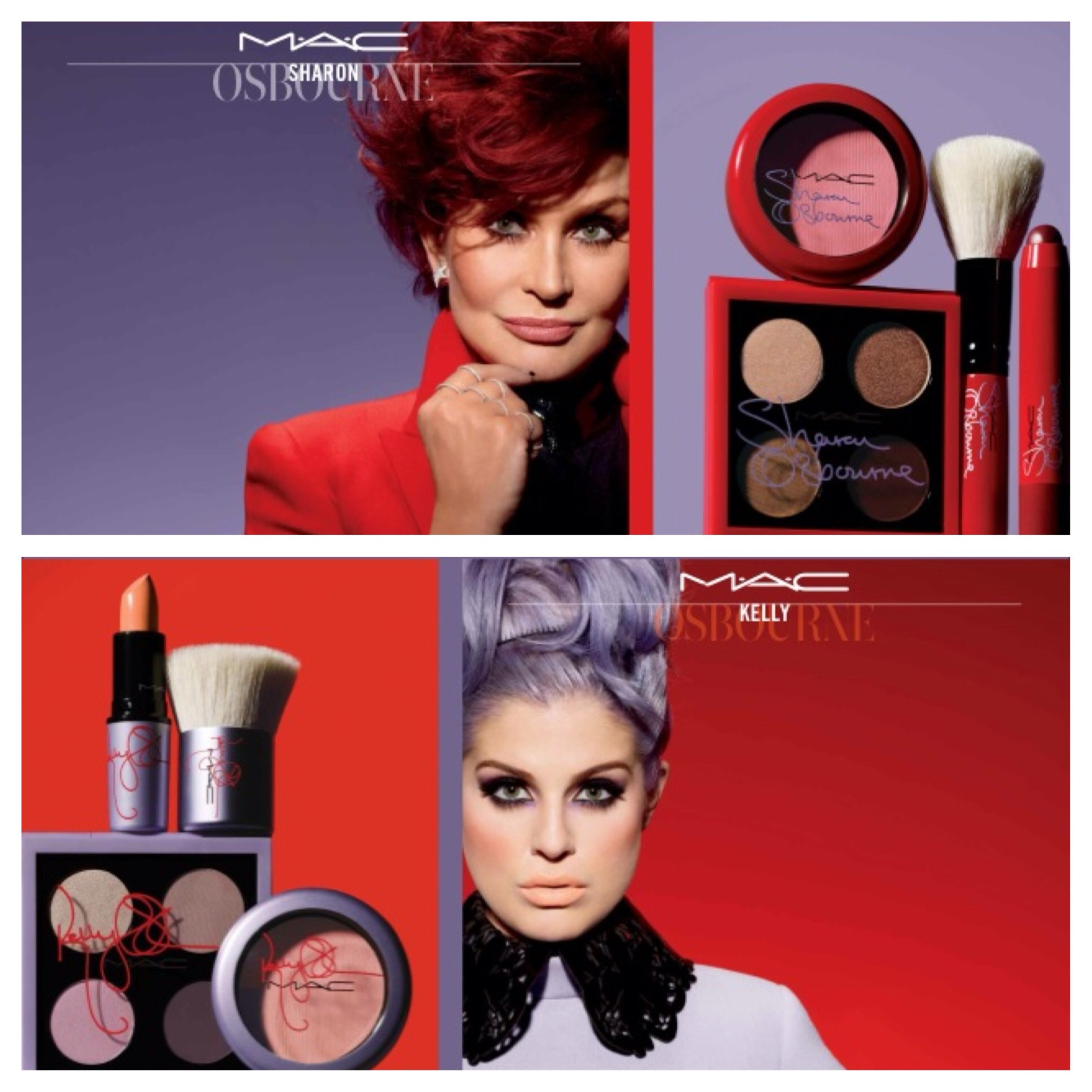 MAC sharon and kelly osbourne collection in Nigeria ...