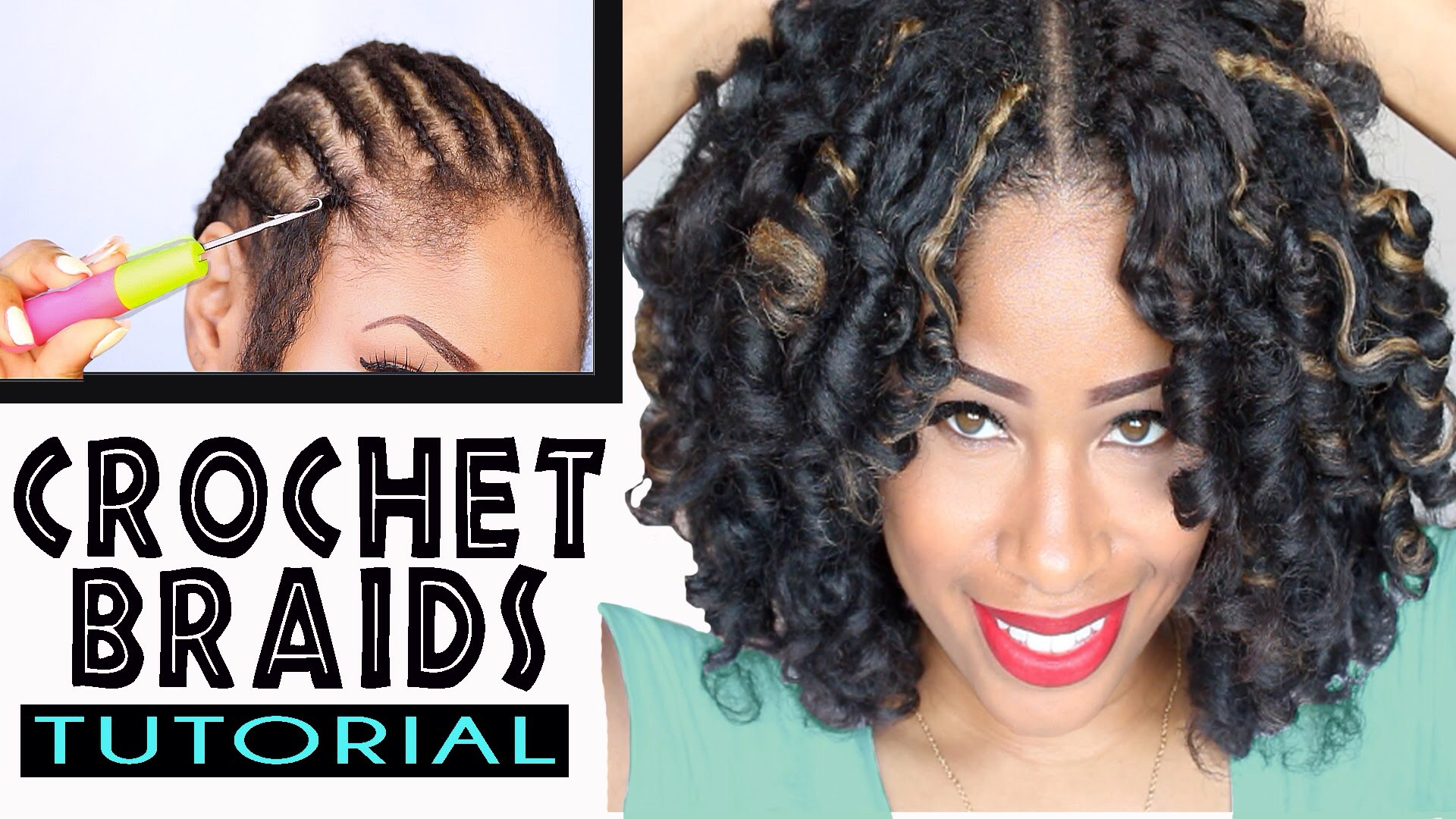 Crochet Hair That Looks Real : crotchet braids hair technique Viviannesblog