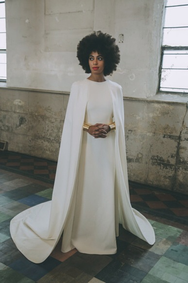 HAUTÉ WEDDING ALERT! SOLANGE SHOWS OFF HER WHITE SIDE – Luminosity ...